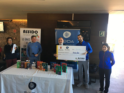 III TOR. DE GOLF INTEGRADO A BENEFICIO DE ASSIDO