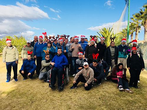 Torneo de Navidad de GOLF ADAPTADO Montepríncipe.