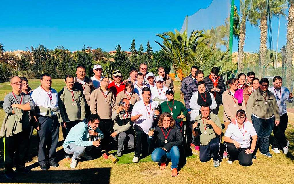 Torneo Navidad Golf Adaptado 2018
