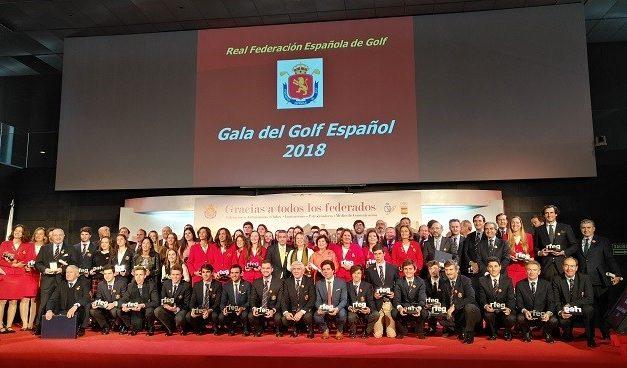 Gala del Golf Español 2018.