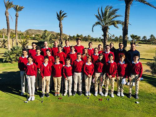 Presentación de la Escuela de golf 2018
