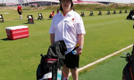 Una murciana en los Special Olympic Games, Abu Dhabi.
