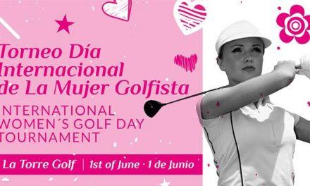 I Torneo día Internacional de la mujer golfista.
