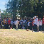 Los más pequeños volvieron a brillar en Monte Príncipe
