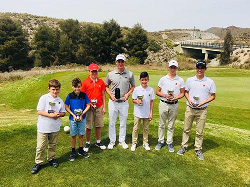Mensual JUVENIL FGRM  22 abril, Lorca Golf Resort