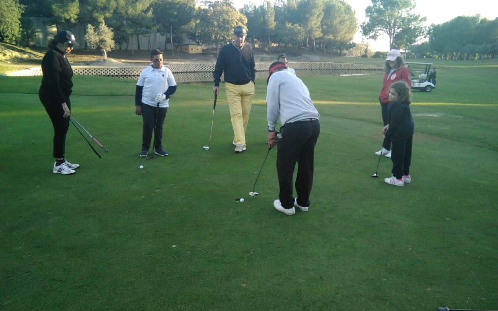 """VI Campeonato de golf de """"Los Pulseras Verdes"""""""