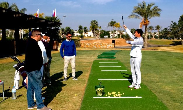 Comienzo de los cursos de golf subvencionados 2019