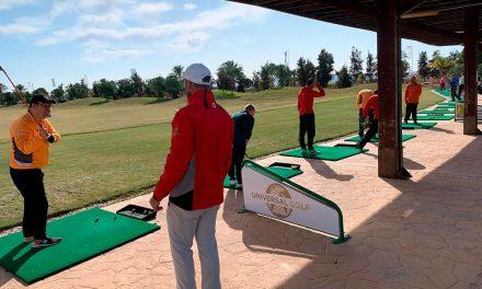 Aidemar comienza las clases en La Serena Golf