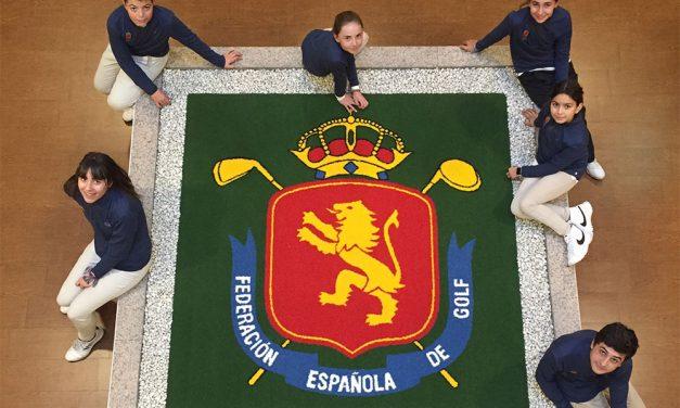 Visita del equipo infantil al Centro de Excelencia