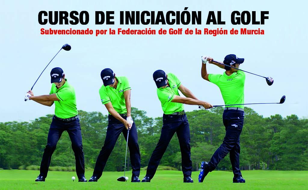 Curso de Iniciación al Golf subvencionados