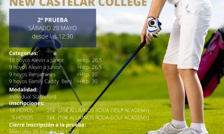 Se reanuda la Liga Juvenil Roda Golf – New Castelar College